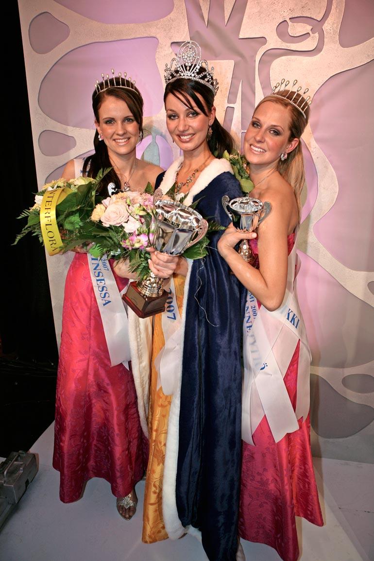 Joanna kruunattiin Miss Suomen toiseksi perintöprinsessaksi vuonna 2007. – En ole koskaan kärsinyt ulkonäköpaineista.