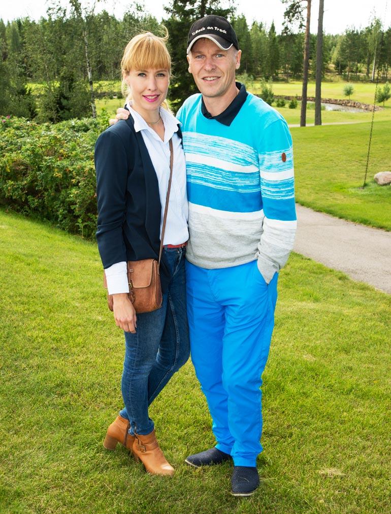 Toni Nieminen shoppaili ex-vaimonsa Heidin kanssa.