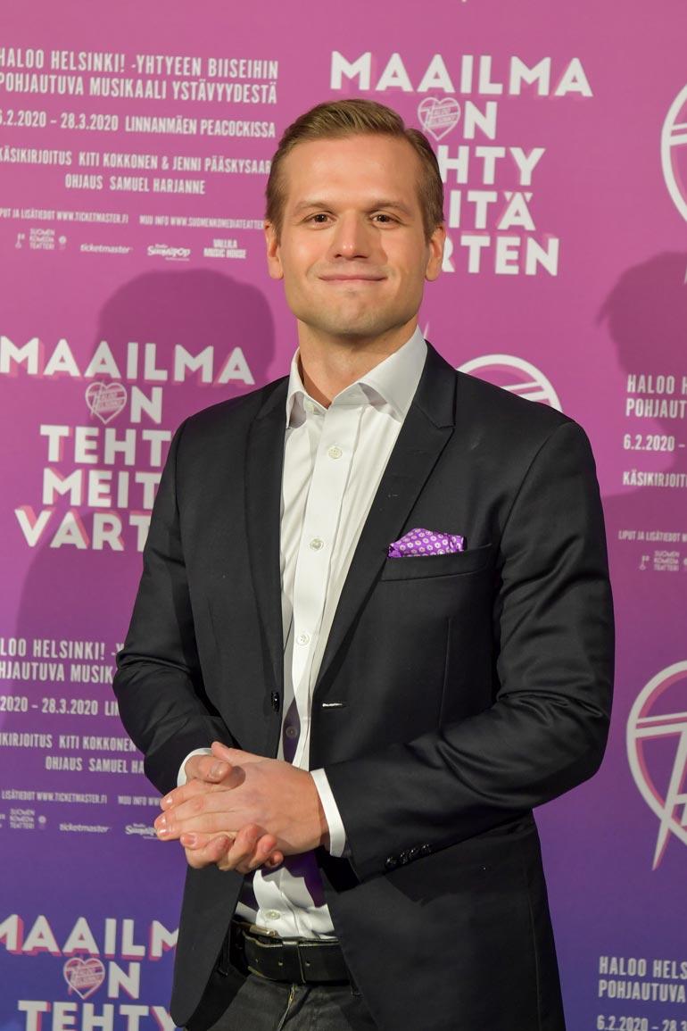 Annin lapsen isä on Aamulypsyn hovimuusikkona tunnettu Ilkka Ihamäki.