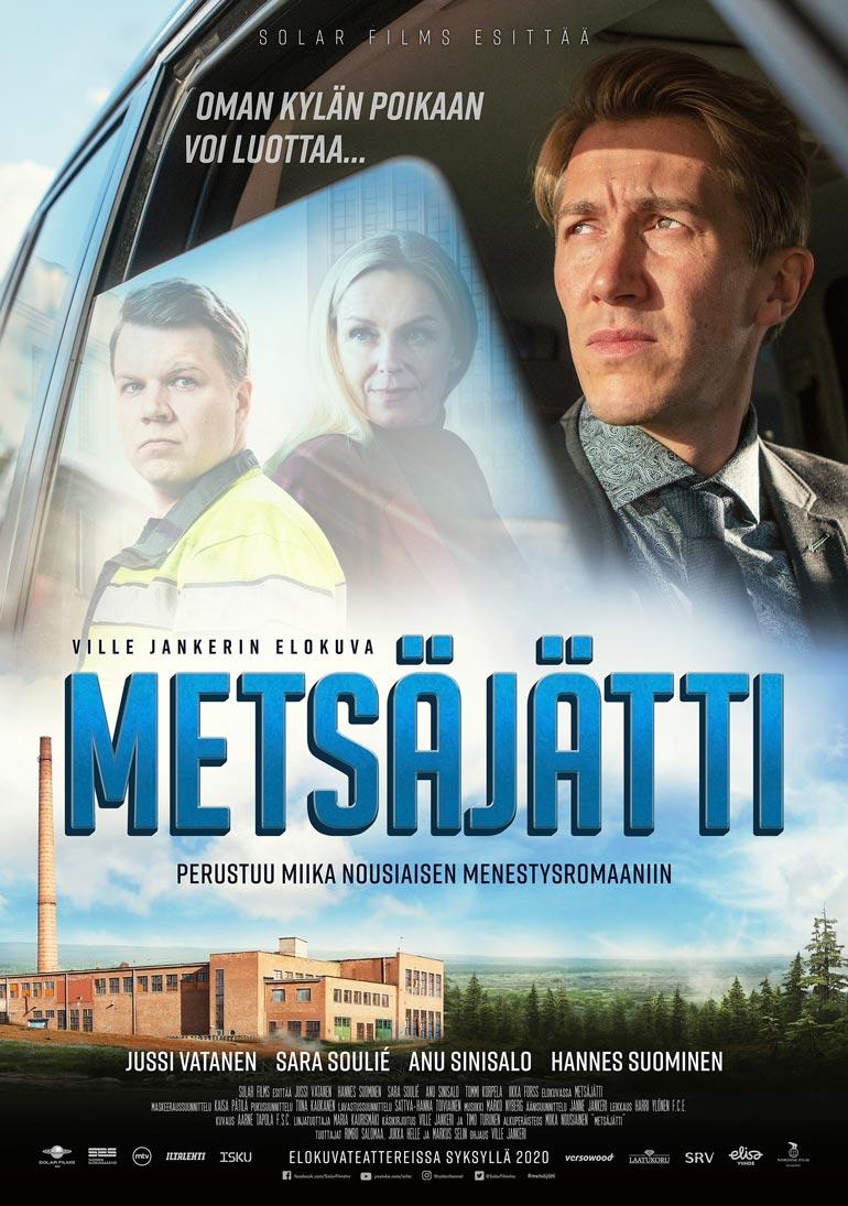 Tommi tulkitsee Metsäjätti-elokuvan tunnuskappaleen Meidän murusia.
