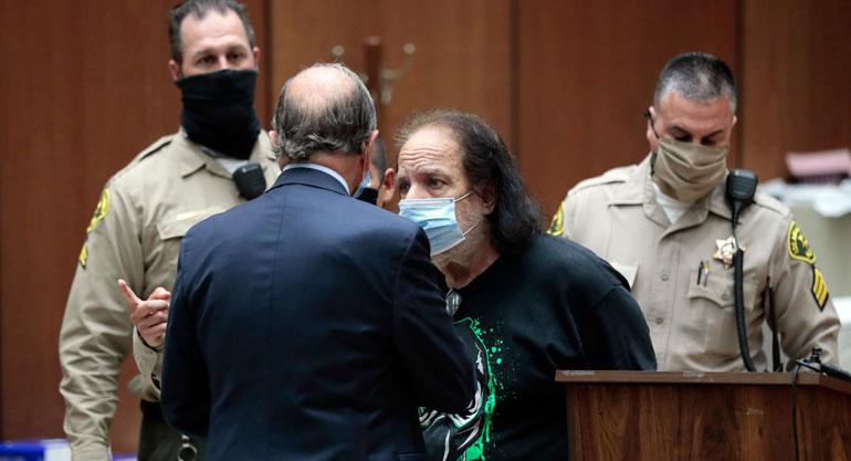 Ron Jeremyä voi odottaa loppuiän kestävä vankeus.
