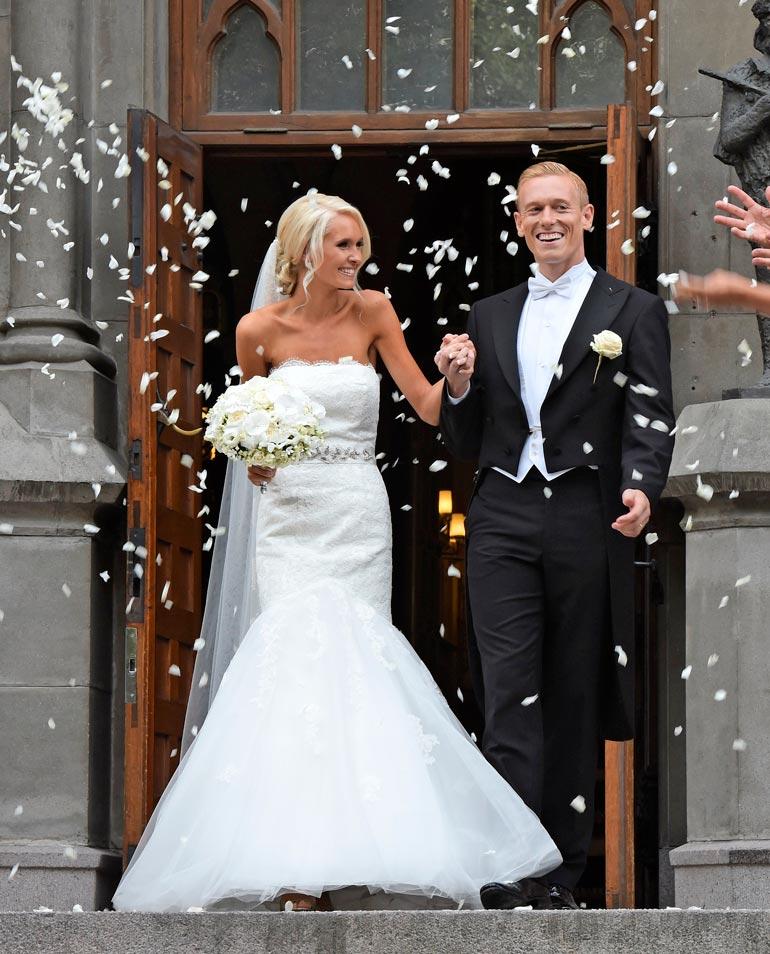 Metti Forssell on tunnettu bloggaaja. Pari avioitui vuonna 2014 Johanneksen kirkossa Helsingissä.