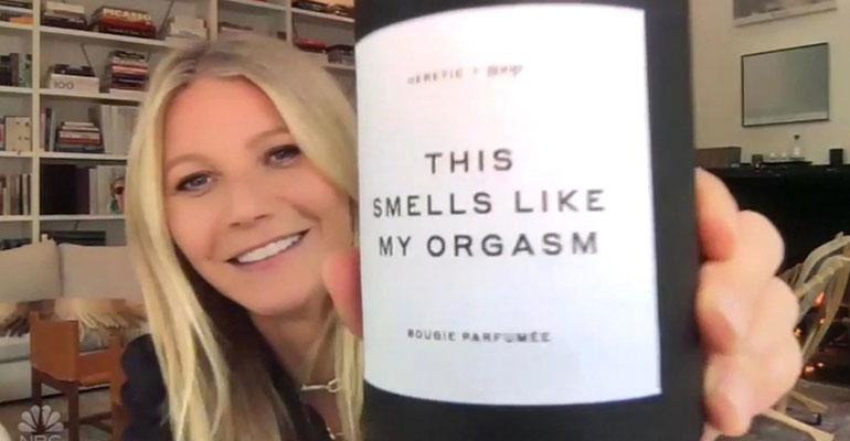 Gwyneth paltrow ja kynttilä