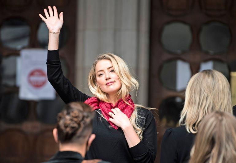 Avioliitto Amber Heardin kanssa päättyi lyhyeen.
