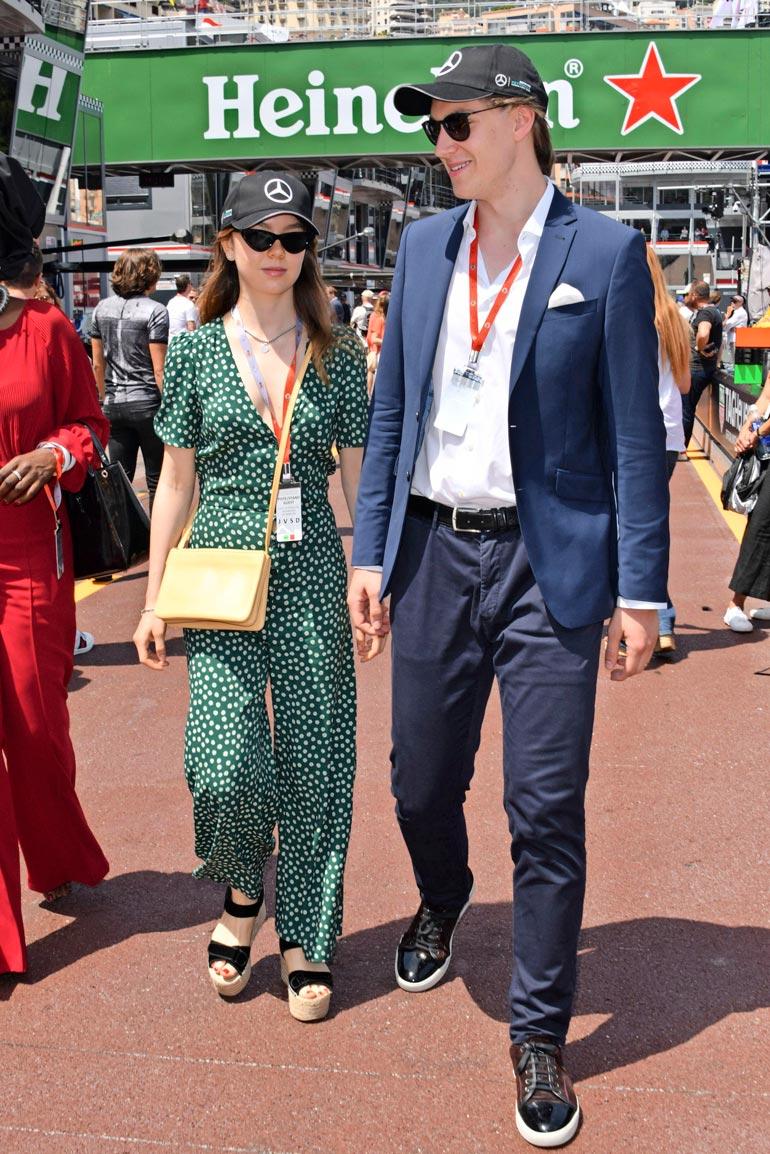 Alexandra ja Ben Sylvester