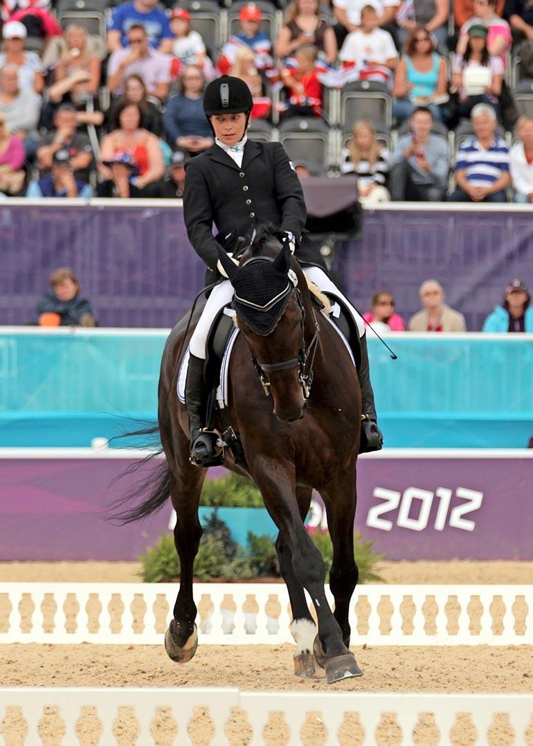 Jaana sijoittui Lontoon paralympialaisissa seitsemänneksi vapaaohjelmassa ja kymmenenneksi henkilökohtaisessa ohjelmassa.