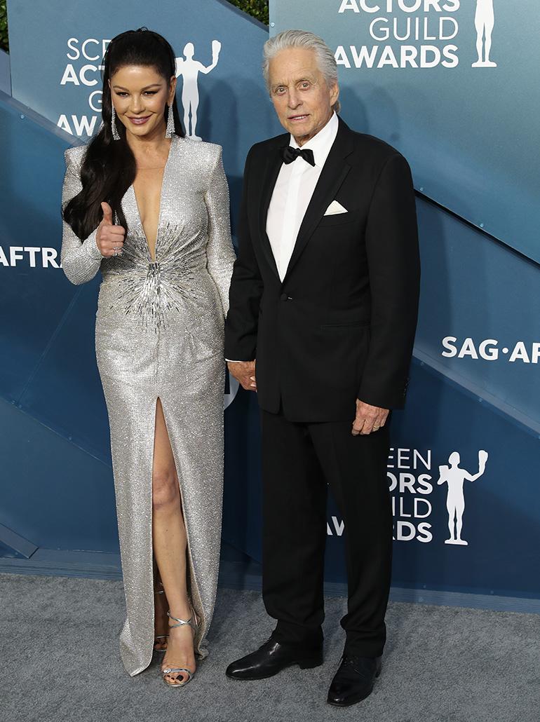 Catherine Zeta-Jones Michael Douglas