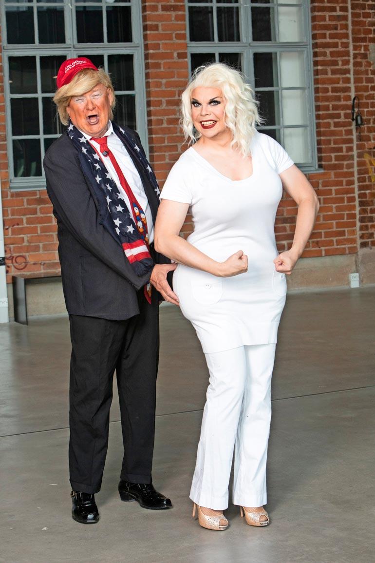 – Veri nais äss, Donald Trump toteaa yrittäjä Tiina J. Ylhästä.
