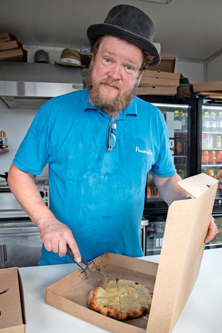 Rasvainen ja täyteläinen hatsapuri on Villen mukaan mainio eväs myös erilaisiin itse aiheutettuihin suolaisen nälkätiloihin.