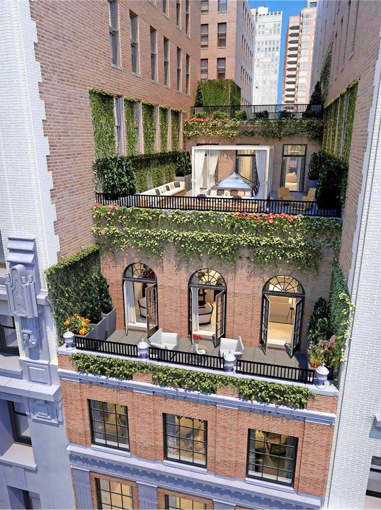 Myynnissä olevassa Manhattanin-asunnossa on peräti 608 neliötä.