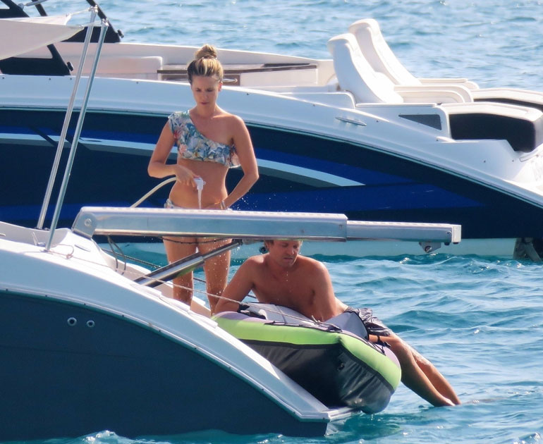 Nico Rosberg ja Vivian Sibold 4