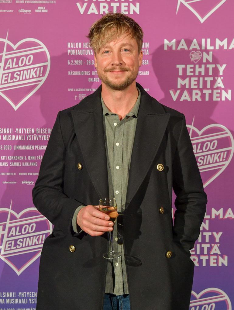 Samu Haber on supersuosittu Suomen lisäksi myös Saksassa.