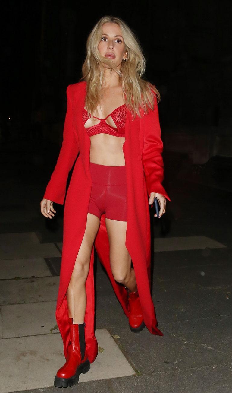 Ellie Goulding punaisissa 2