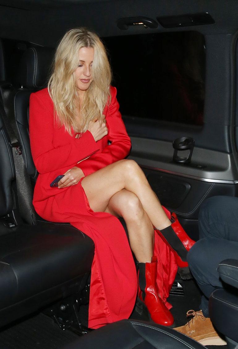 Ellie Goulding punaisissa 1
