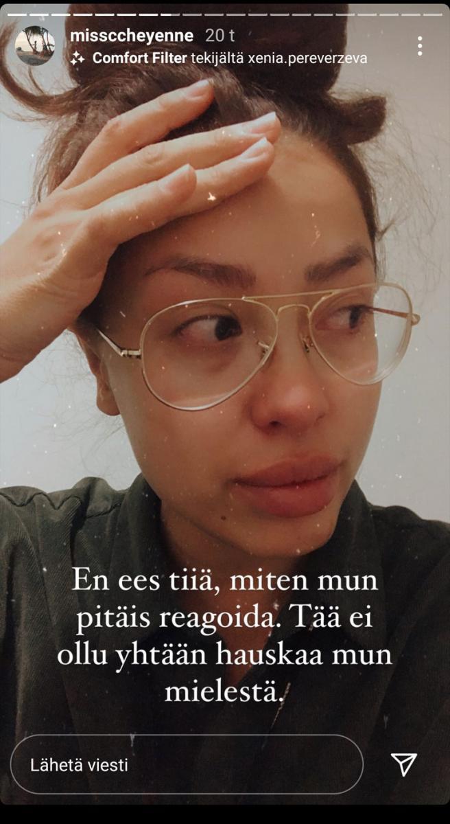 Cheyenne Järvisen Instagram