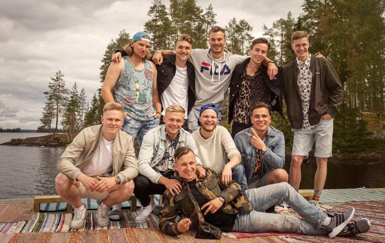 Tässä he ovat: uudet miessinkut Temptation Island Suomessa.