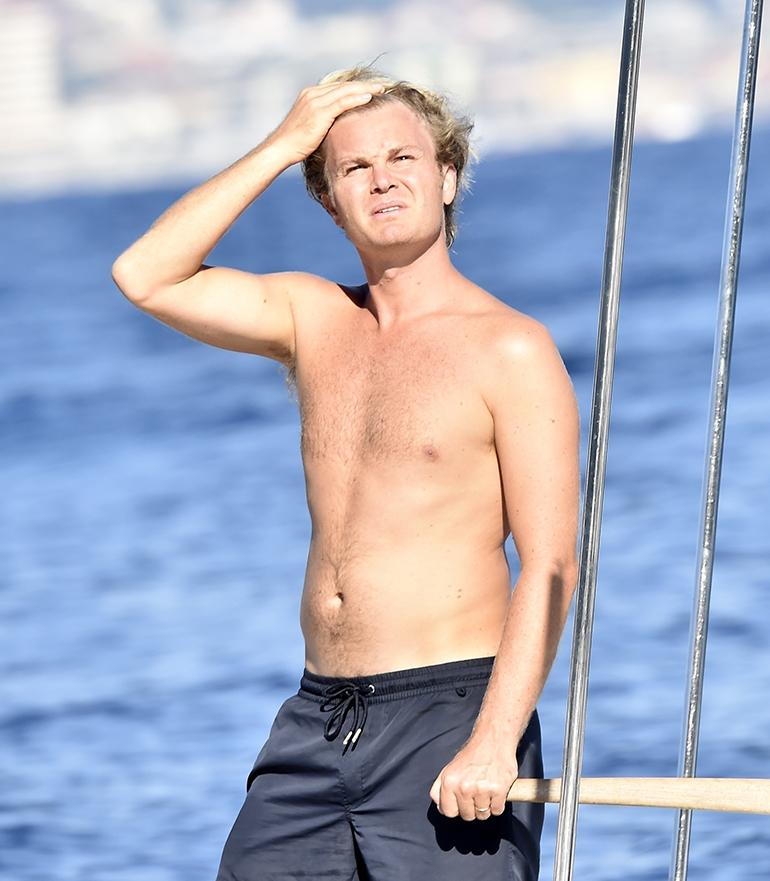 Nico Rosberg Vivian Sibold