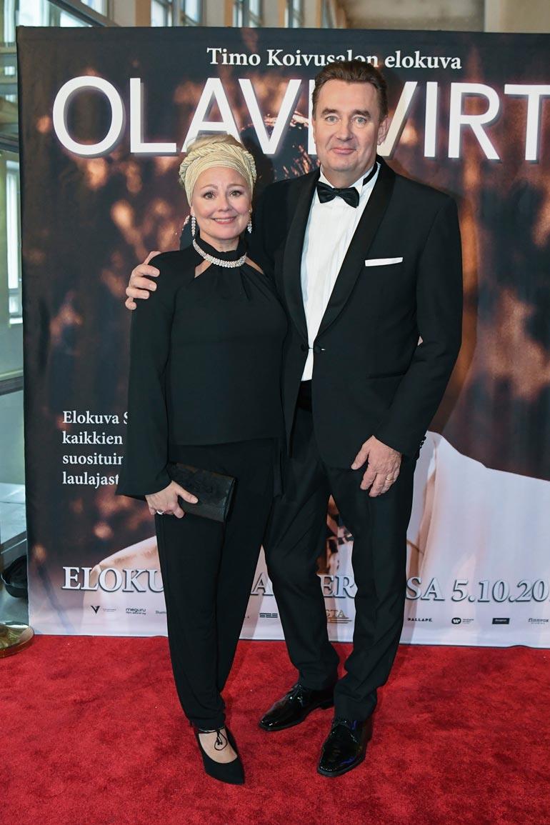 Puoliso Susanna Palin on työskennellyt miehensä Timon kanssa monissa projekteissa vuosien varrella.