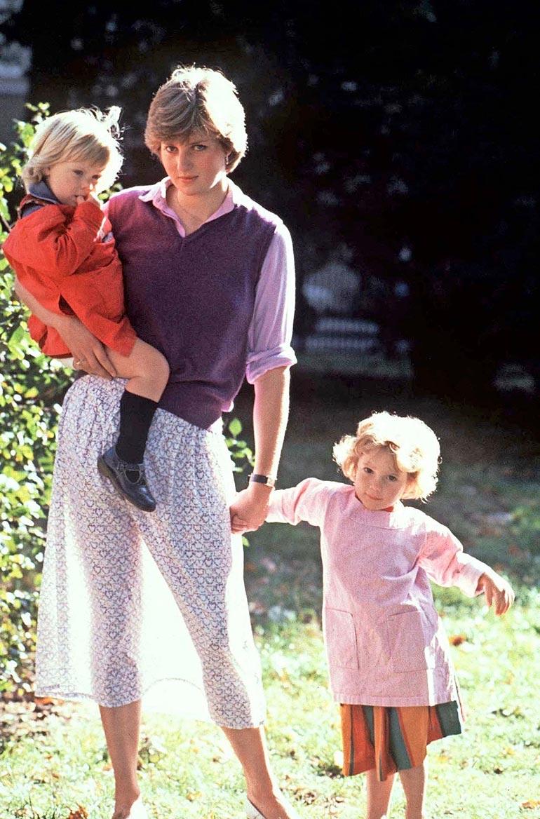 Diana vuonna 1980
