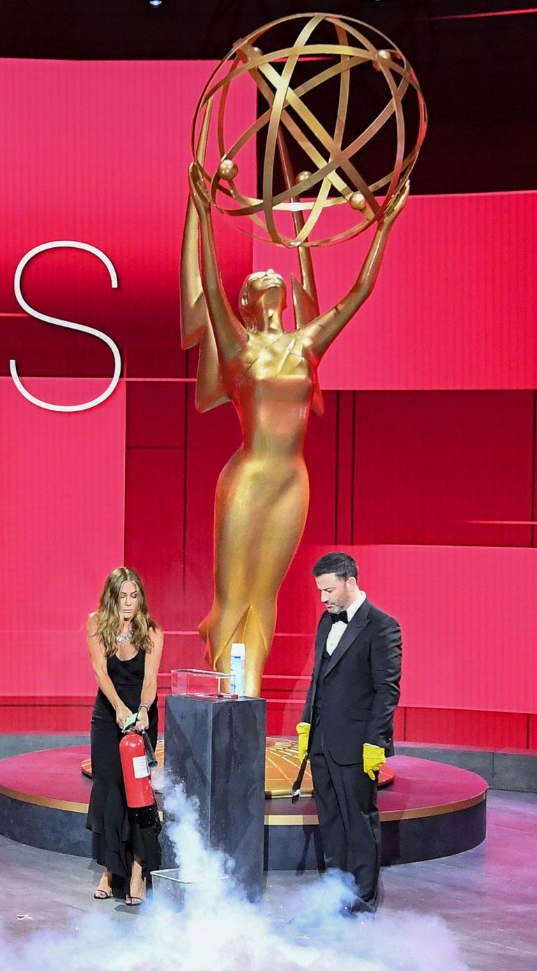 Jennifer Aniston ja Jimmy Kimmel