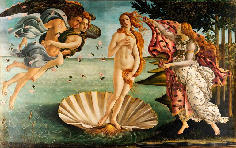 Venuksen syntymä,