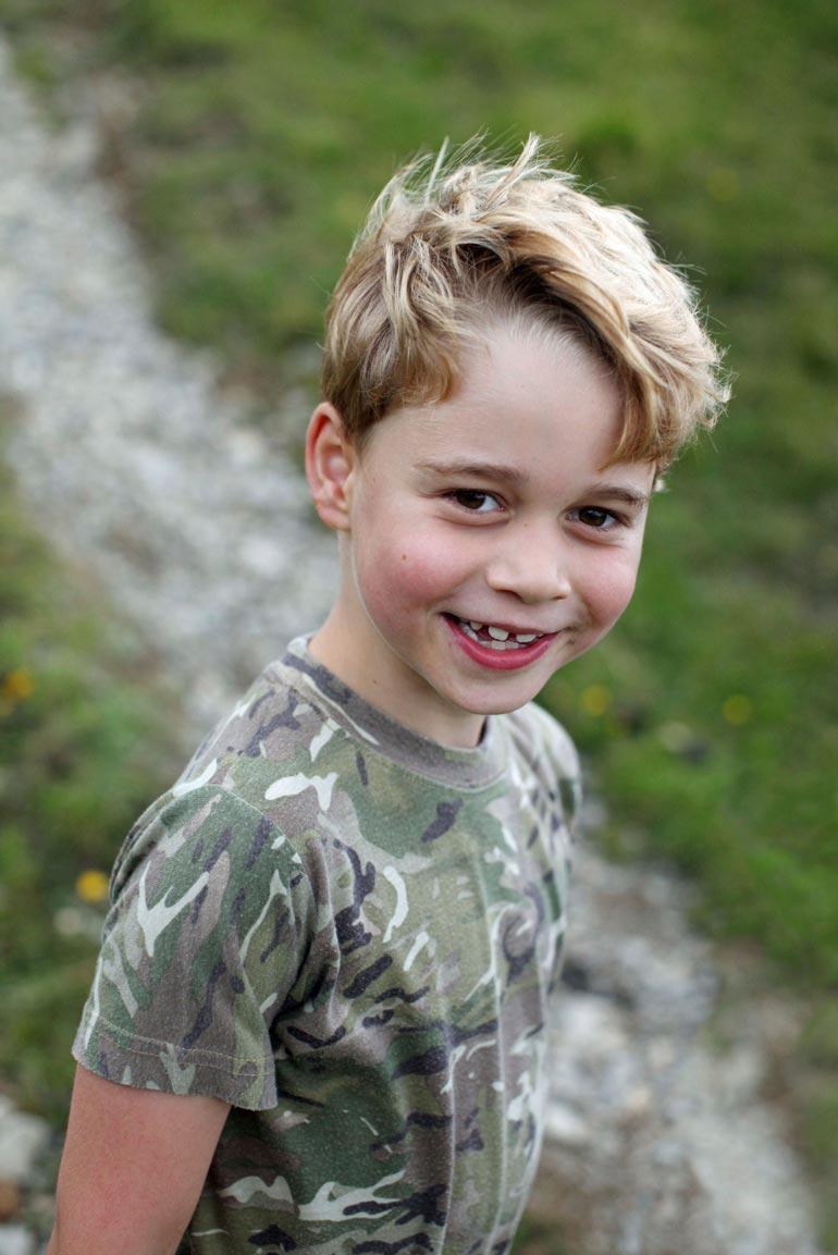 Prinssi George on prinssi Williamin ja herttuatar Catherinen ensimmäinen lapsi.