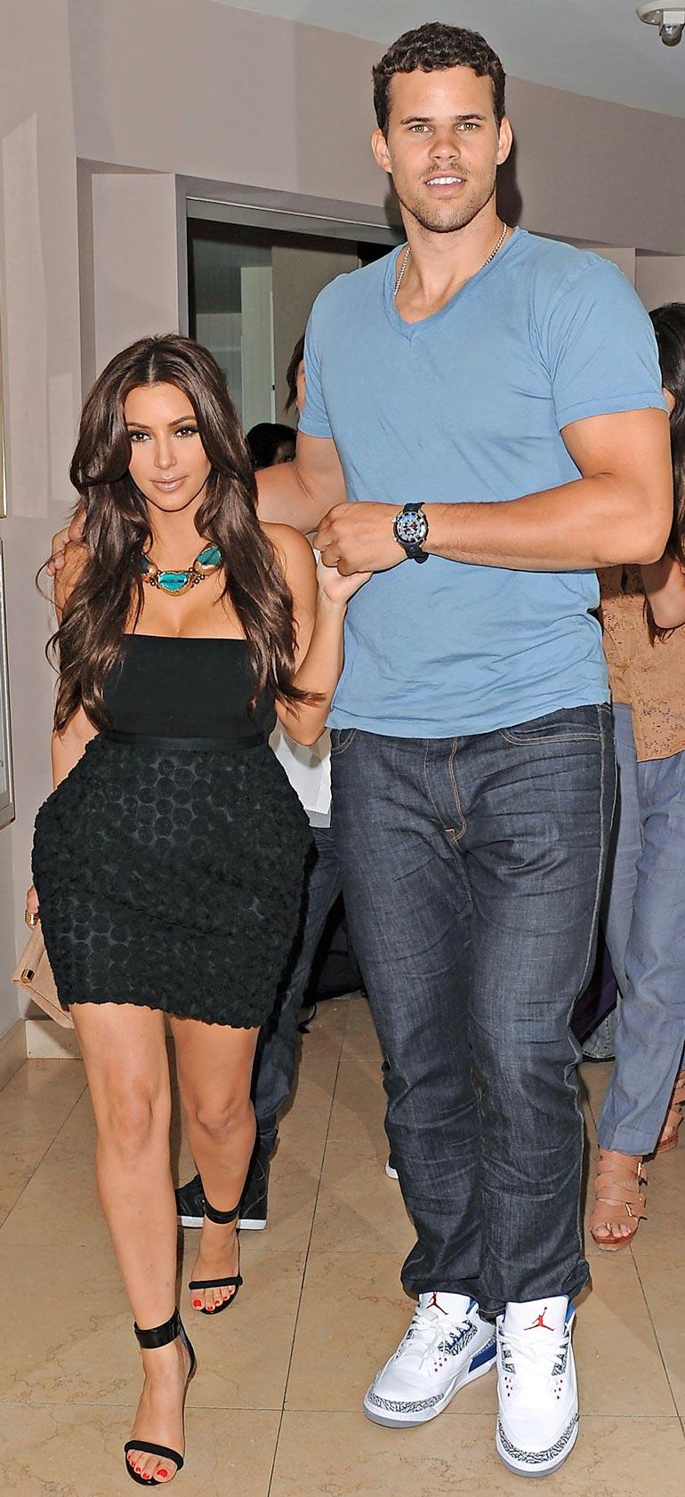 Kim Kardashian ja Kris Humphries
