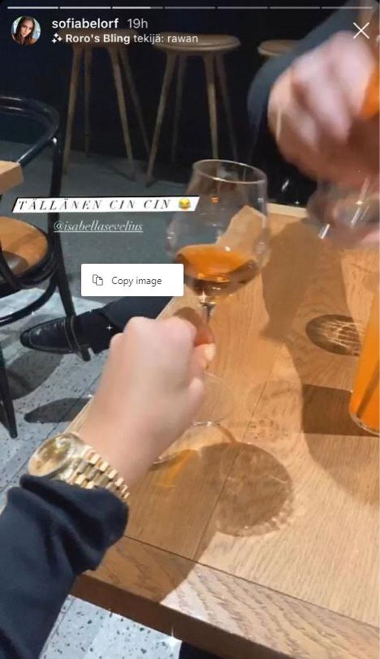 Sofia Belórf Rolex Day-Date