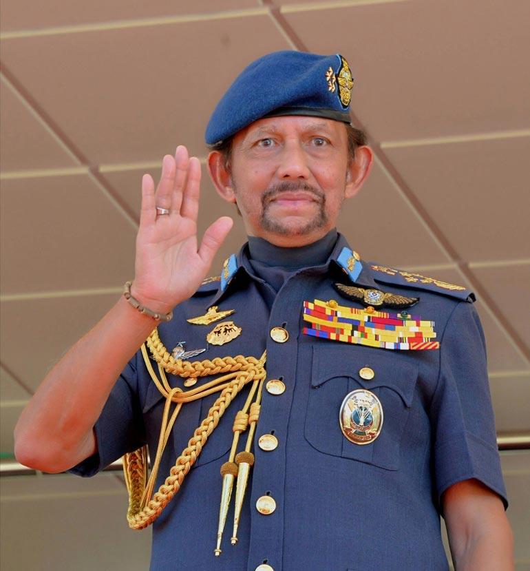 Brunein sulttaani Hassanal Bolkiah.