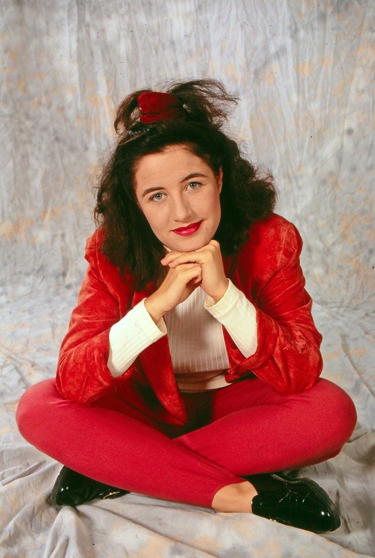 Milana teki ensimmäisen levynsä 21-vuotiaana, jolloin julkisuus vielä hirvitti.