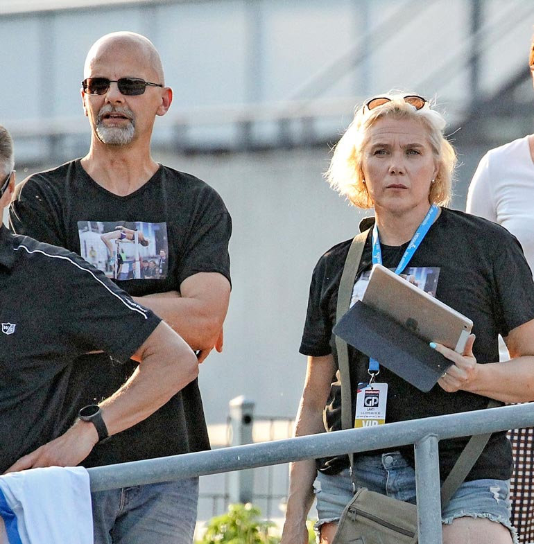 Aktiiviuriensa jälkeen Heikki ja Ringa ovat valmentaneet.