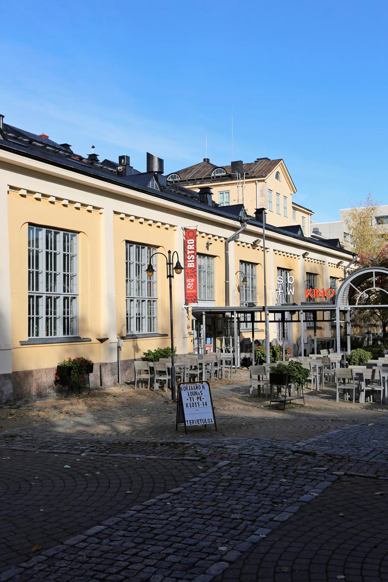 Uusin tulokas Jaajon yritysryppäissä on on Kulttuuritehdas Korjaamo Helsingissä.