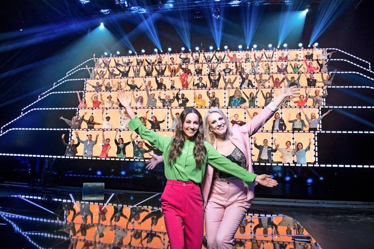 All Together Now Suomi Nelonen, 498 000 katsojaa