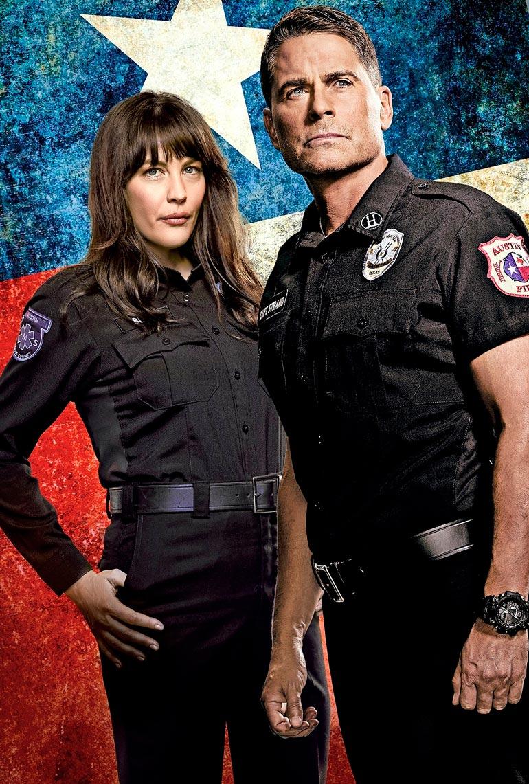 9-1-1: Lone Starissa Rob näyttelee palomies Owen Strandia.  Sarjan toinen kausi nähdään Foxilla helmikuussa.