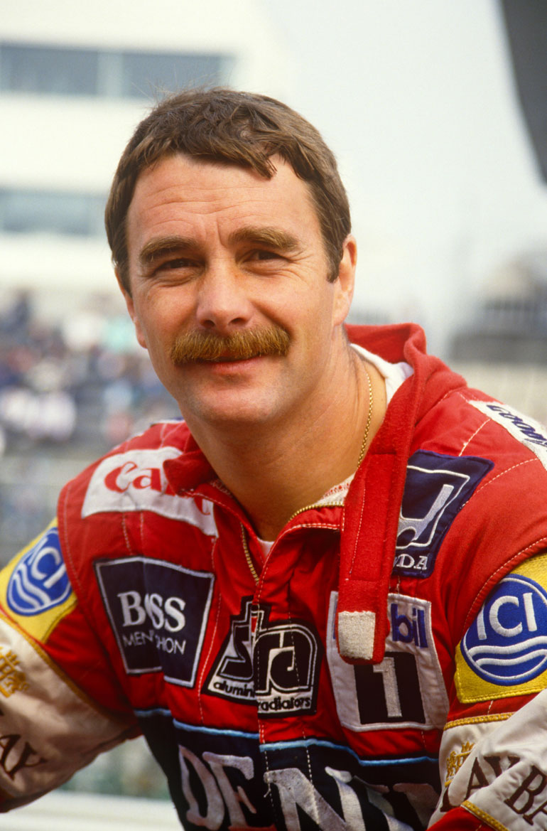 Nigel Mansell viikset