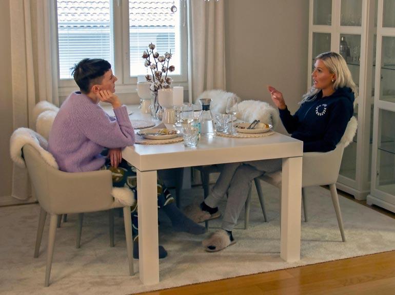 Maisa esitteli kotiaan hiljattain Yökylässä Maria Veitola -ohjelmassa.