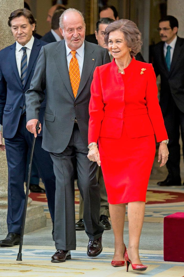 Juan Carlos ja Sofia avioituivat 1962. Kuninkaan kerrotaan olleen uskoton koko liiton ajan.