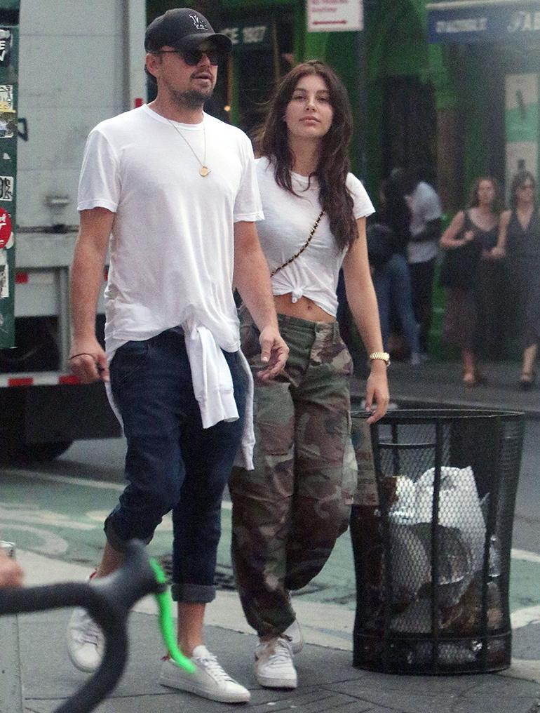 Leonardo DiCaprio ja Camila Morrone