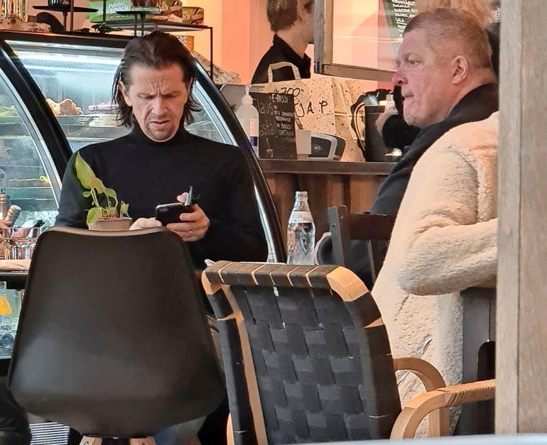 Pekka Lehtinen ja Jarkko SIpilä