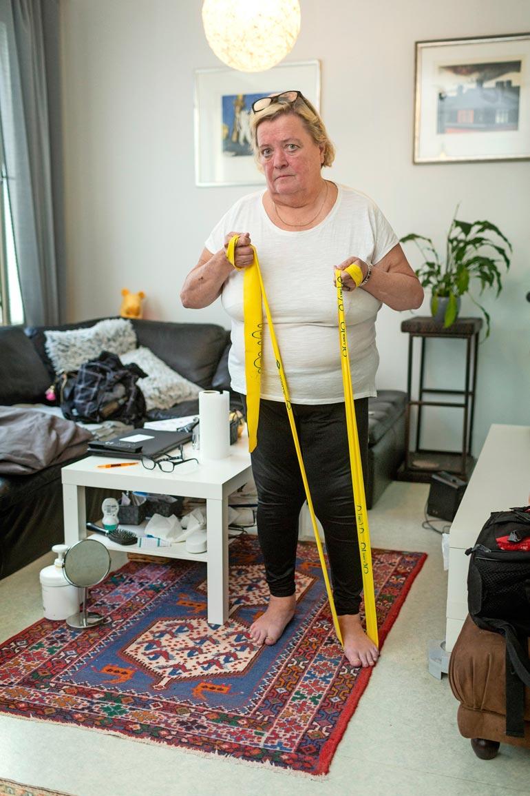 Marjo pääsi laihdutuksen myötä eroon kakkostyypin diabeteksesta ja uniapneasta. – Nykyään minun herkkuani ovat hapankorput!