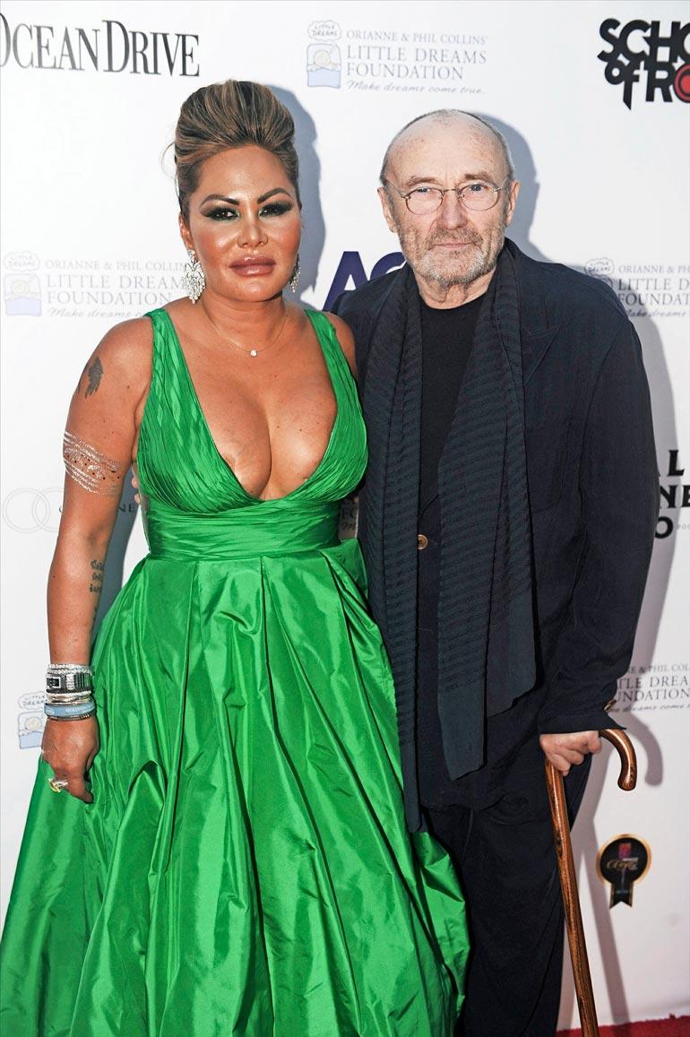 Philin ja Oriannen avioero vuonna 2007 maksoi muusikolle hurjat yli 32 miljoonaa euroa. Nyt exä vaatii taas lisää.
