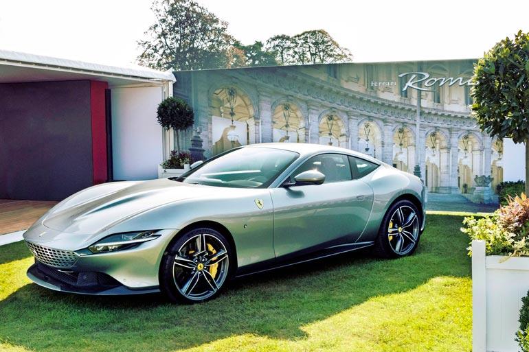 Turkulainen kiinteistöveijari on tilannut kuvan kaltaisen Ferrari Roman. – Se on pakasta vedetty ja väriltään helmiäisvalkoinen!