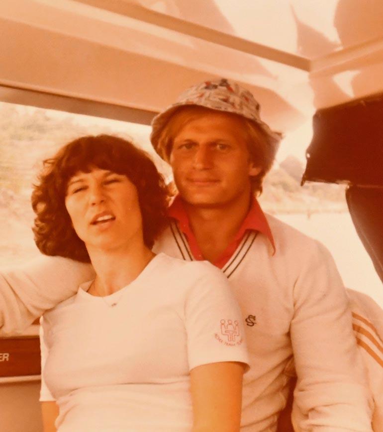 Tammiset menivät kihloihin 1976 ja naimisiin 1979 Raision kirkossa. Ennen papin aamenta pariskunta ehti seurustella 15 vuotta.