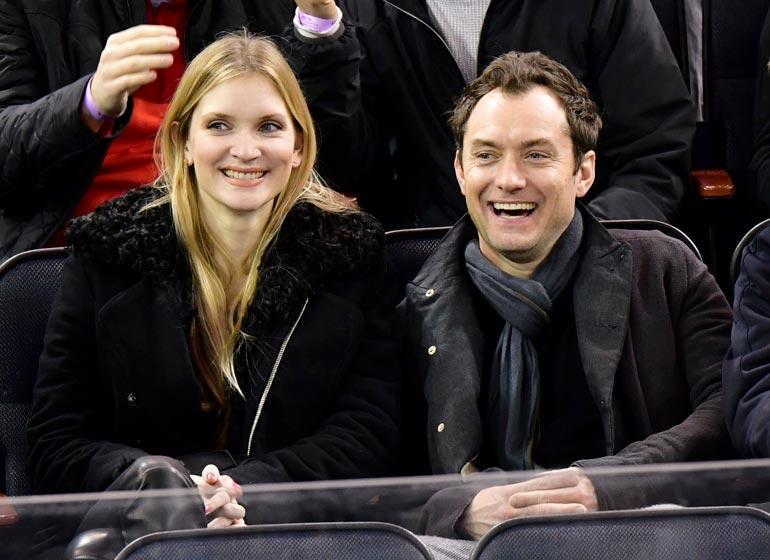 Phillipa ja Jude saivat ensimmäi sen yhteisen lapsensa syksyllä. Ennestään Judella on viisi muuta lasta kolmen naisen kanssa.
