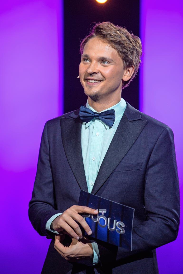 Roope Salminen kuului Putouksen vakiokalustoon viiden kauden ajan.