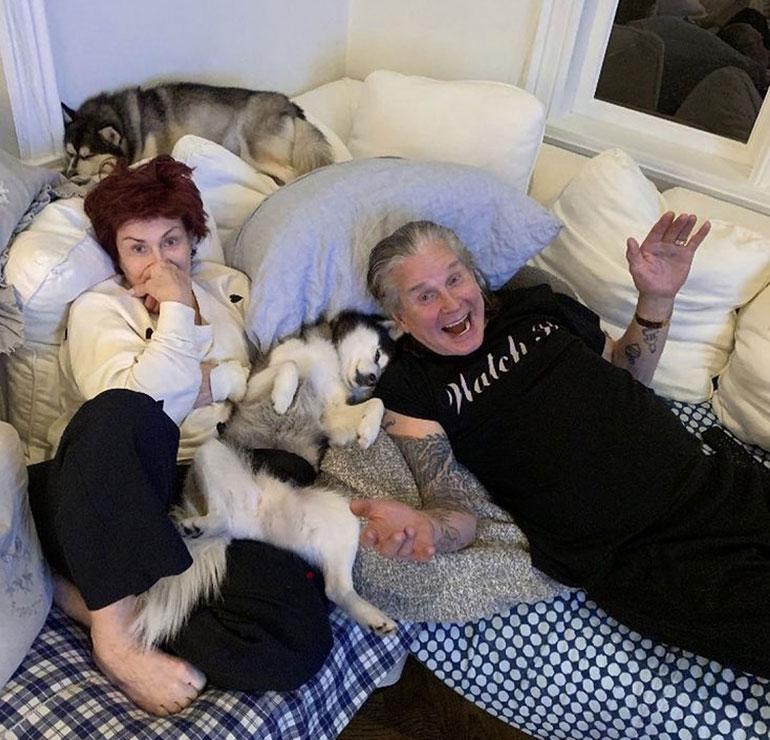 Sharon ja Ozzy Osbourne