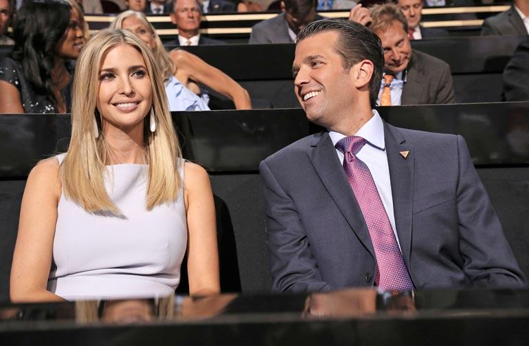 Ivankan ja Donald Juniorin on veikkailtu pyrkivän politiikkaan. Myös isi-Donaldin uskotaan asettuvan uudestaan ehdolle seuraavissa presidentinvaaleissa.