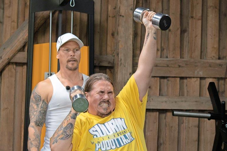 Suurimmassa pudottajassa Antti on selvittänyt tiensä loppumetreille saakka. Lähtöpainoa oli 194,4 kiloa. Voittaja selviää tämän jutun ilmestymispäivänä.