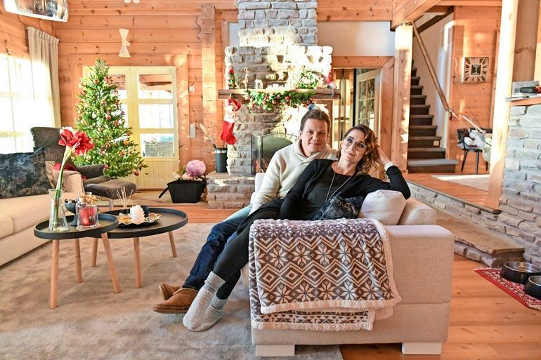 Sami ja Satu ovat asuneet vasta muutaman kuukauden uudessa kodissaan. Sami oli myyty sillä sekunnilla, kun näki sen.