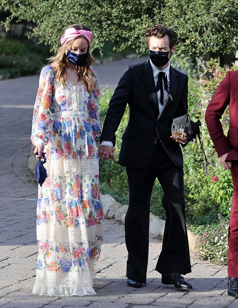 Olivia Wilde ja Harry Styles häissä